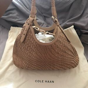 Cole Haan Genevieve Woven Purse